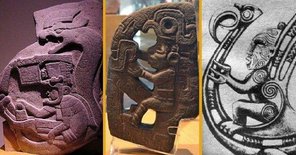Sự giống nhau kỳ lạ giữa các vị Thần trong một số nền văn hóa cổ đại