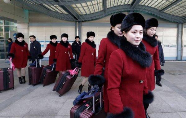 Hoạt náo viên Triều Tiên là nô lệ tình dục cho các quan chức