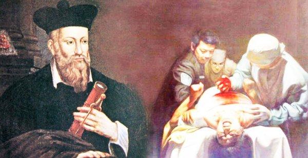 """Cuốn sách """"Các Thế Kỷ"""" của Nostradamus và lời tiên tri về mổ cướp nội tạng (P.1)"""