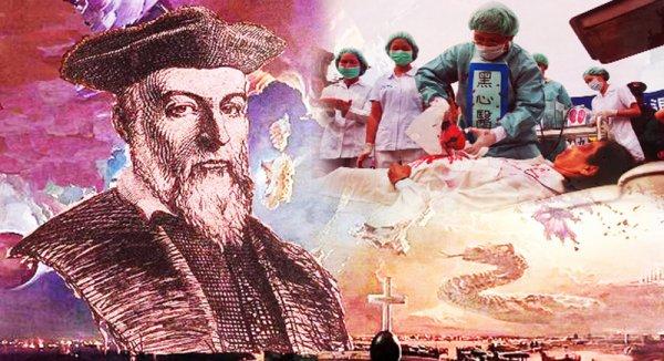 """Cuốn sách """"Các Thế Kỷ"""" của Nostradamus và lời tiên tri về mổ cướp nội tạng (P.2)"""