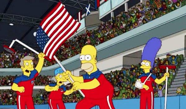 'The Simpsons' tiếp tục tiên đoán chính xác về Olympic 2018 trước cả thập kỷ