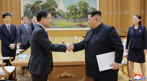 Triều Tiên: Ông Kim Jong-un đồng ý gặp tổng thống Hàn Quốc