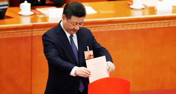 2 phiếu phản đối ông Tập Cận Bình sửa đổi Hiến pháp là ai?