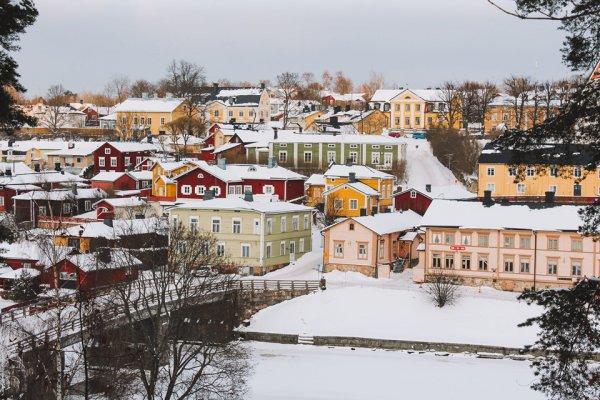Phần Lan: Thành phố cổ Porvoo với những ngôi nhà màu sắc