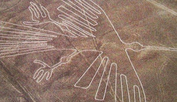 Phát hiện thêm 50 hình vẽ khổng lồ trên sa mạc Nazca, Peru