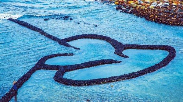 Vẻ đẹp kiệt tác nghệ thuật của đập cổ tại Đài Loan