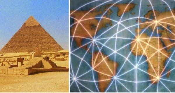 Các di tích cổ đại được xây dựng theo những vị trí chiến lược toàn cầu?