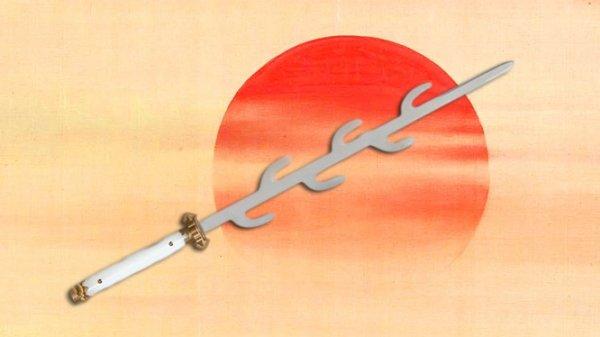 Truyền thuyết về thanh kiếm 7 nhánh của Nhật Bản