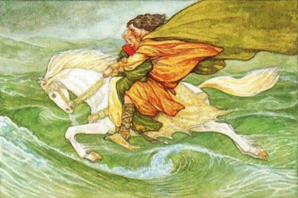 """Bắt gặp câu chuyện """"Từ Thức gặp tiên"""" trong thần thoại người Celt"""