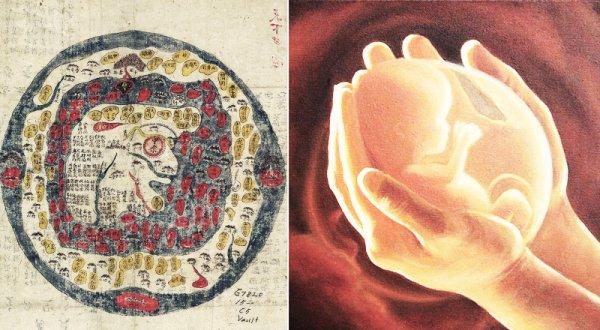 Điều kì diệu từ sách cổ: Trái đất là bản sao hoàn hảo của cơ thể người