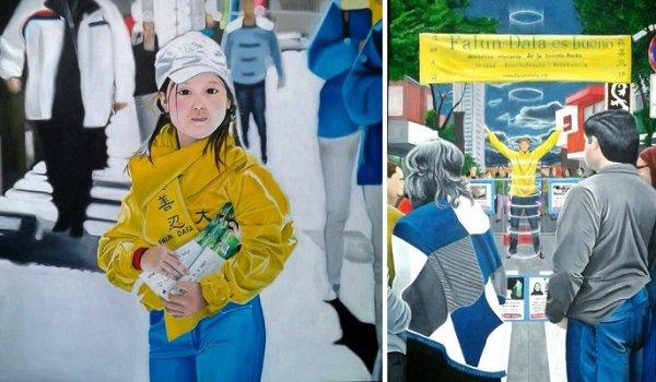 Nghệ sĩ Argentina: Pháp Luân Đại Pháp khiến các tác phẩm nghệ thuật của tôi tràn đầy màu sắc