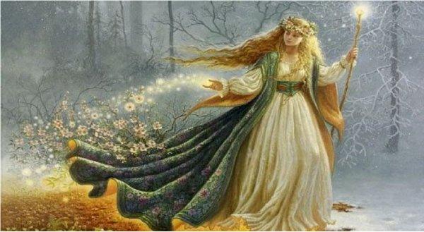 Hình ảnh nữ thần trong những câu chuyện cổ tích phương Tây