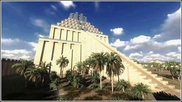 """Tháp Etemenanki: """"Nấc thang lên thiên đường"""" của người Babylon cổ đại"""