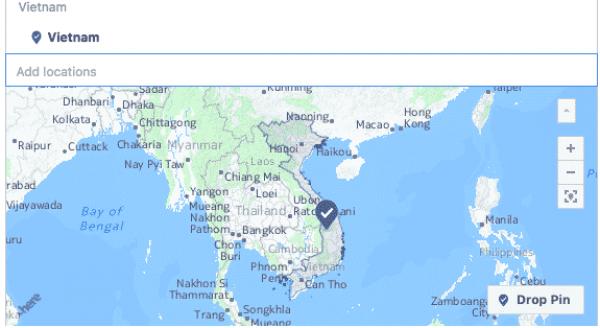 Facebook xác định lãnh thổ Việt Nam không có Trường Sa, Hoàng Sa?