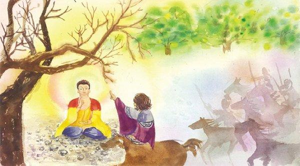 Bài học cảnh tỉnh từ câu chuyện Lưu Ly Vương bị đọa xuống địa ngục
