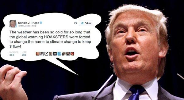 """Tổng thống Trump: """"Sự nóng lên toàn cầu do con người gây ra"""" chỉ là trò lừa bịp"""