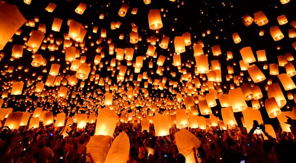 Lễ Vu Lan trải khắp các quốc gia Châu Á