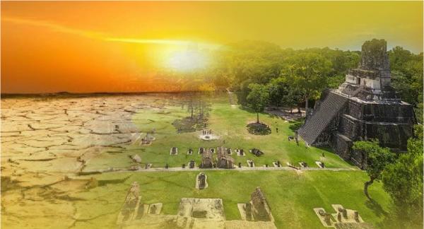 Nghiên cứu mới: Maya sụp đổ vì không qua khỏi hạn hán