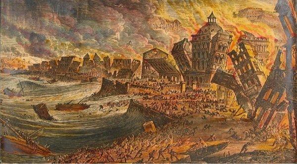 Chúa đã giáng thiên tai trừng phạt Lisbon của Bồ Đào Nha vào thế kỷ 18?