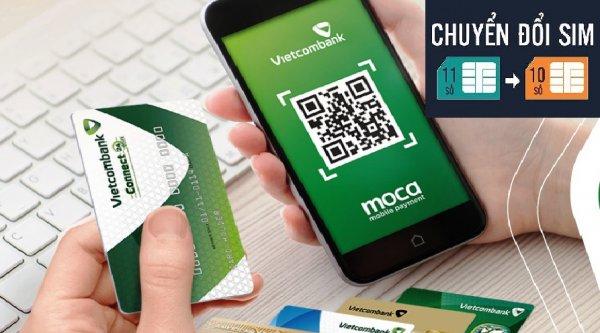 Từ 15/11, Vietcombank dừng dịch vụ ngân hàng điện tử với các thuê bao 11 số chưa đăng ký