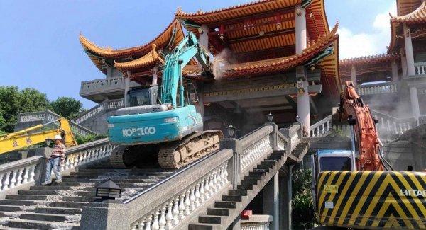 Đền thờ Mao Trạch Đông tại Đài Loan bị phá dỡ