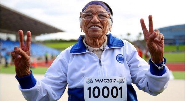 Cụ bà 102 tuổi trở thành một hiện tượng tại Ấn Độ khi giành vô địch giải điền kinh thế giới