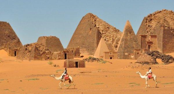 Không phải Ai Cập, Sudan mới là quốc gia có nhiều kim tự tháp nhất!