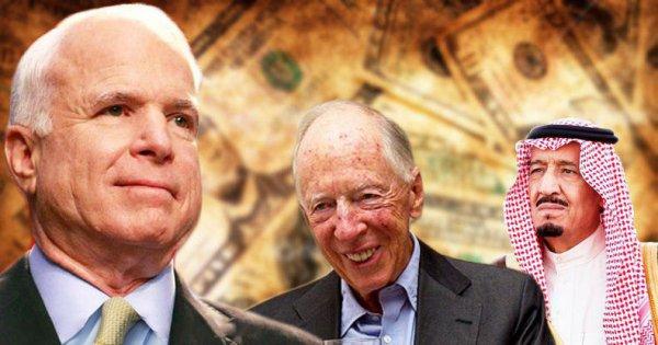 Mối quan hệ giữa John McCain và gia tộc tài chính Rothschild