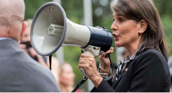 Đại sứ Mỹ tham gia biểu tình ở New York chống chính quyền Venezuela
