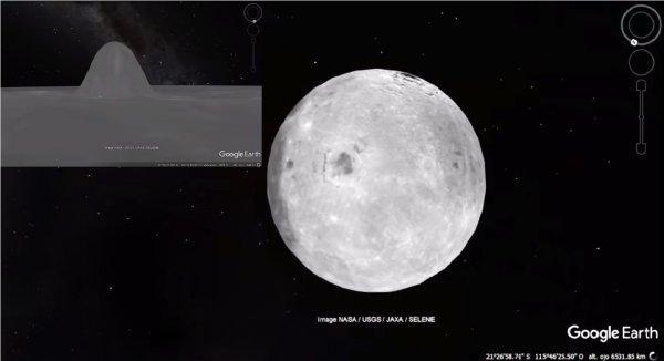 Google Moon phát hiện 'cấu trúc kim tự tháp kỳ lạ' trên mặt trăng
