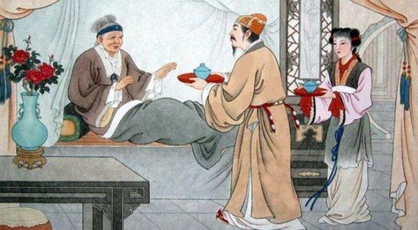 Thần tiên giúp người con hiếu thảo chữa bệnh cho mẹ, để lại lời tiên đoán phi thường