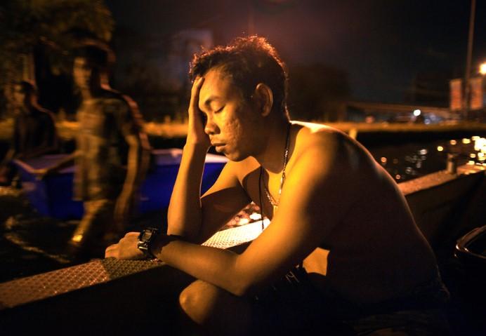 Những hình ảnh mới nhất về lũ lụt tại Bangkok.18