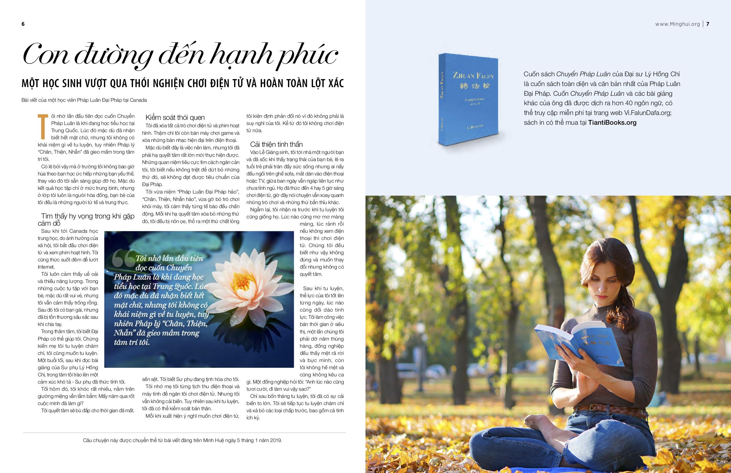 Nội dung từ ấn bản Minh Huệ Đa ngữ 2019.