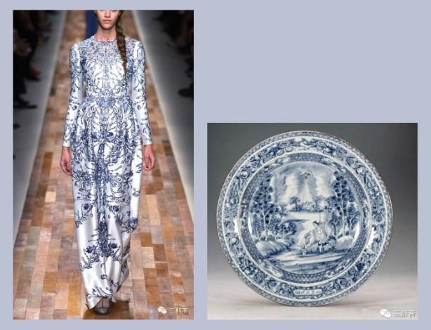 Những mẫu thiết kế thời trang lấy cảm hứng từ bình hoa, đĩa sứ và ấm trà..9