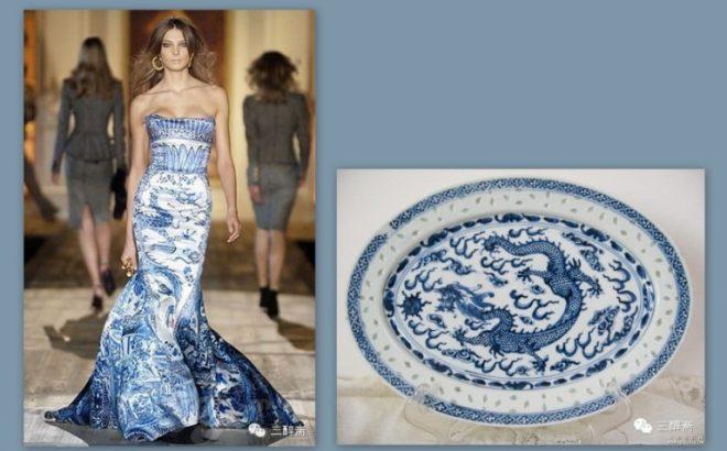 Những mẫu thiết kế thời trang lấy cảm hứng từ bình hoa, đĩa sứ và ấm trà - H1