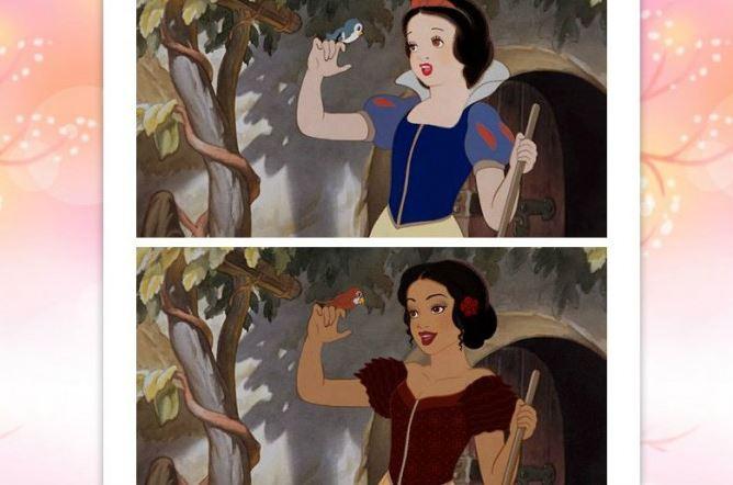 """Chùm Ảnh """"Bạch Tuyết của Disney phiên bản da màu"""" - H1"""
