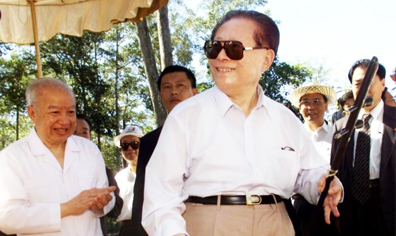 Cựu lãnh đạo Đảng Cộng sản Trung Quốc Giang Trạch Dân. (Ảnh: )