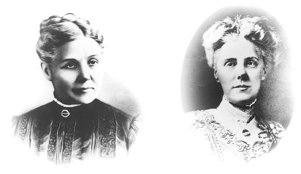 bà Ann Maria Reeves Jarvis và con gái Anna Marie Jarvis.