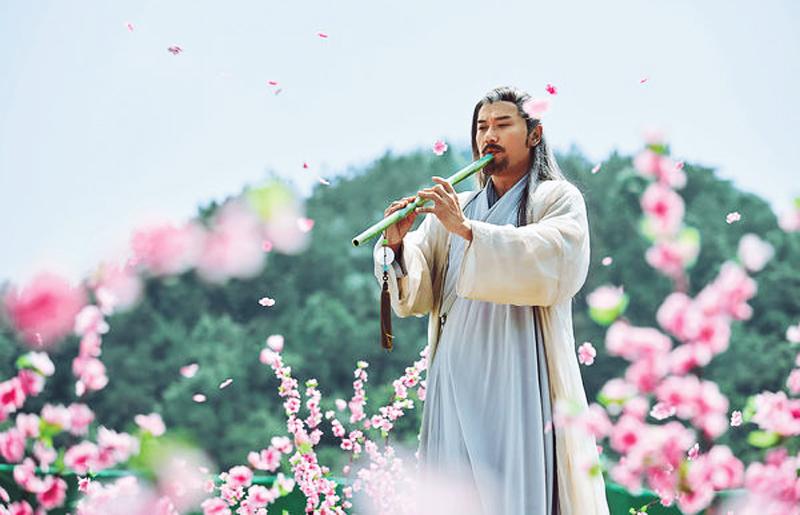 Tạo hình nhân vật Hoàng Dược Sư trong phim. (Ảnh: Taici)