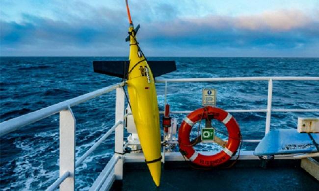 Thiết bị lặn không người lái Seaglide Mỹ.