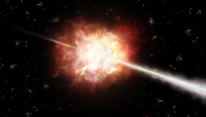 Các nhà thiên văn học chụp được vụ nổ cực lớn trong vũ trụ - ảnh 2