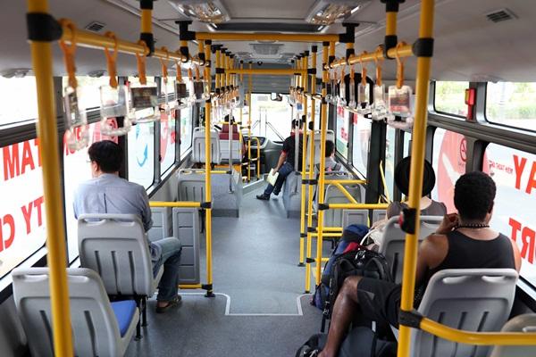 TP.HCM mở tuyến xe buýt 5 sao đi sân bay Tân Sơn Nhất và các bệnh viện lớn.2
