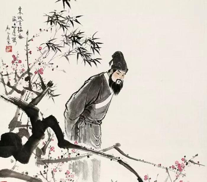 Tô Thức hay Tô Đông Pha là một nhà văn, nhà thơ nổi tiếng nằm trong Bát đại gia Đường Tống. (Tranh sưu tầm từ internet)