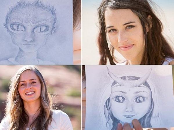 Hai cô gái Mỹ tuyên bố có con với người ngoài hành tinh và chia sẻ ảnh những đứa con lai của mình.