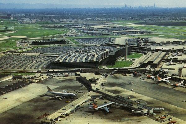 Sân bay Quốc tế O'Hare ở thành phố Chicago (Mỹ).