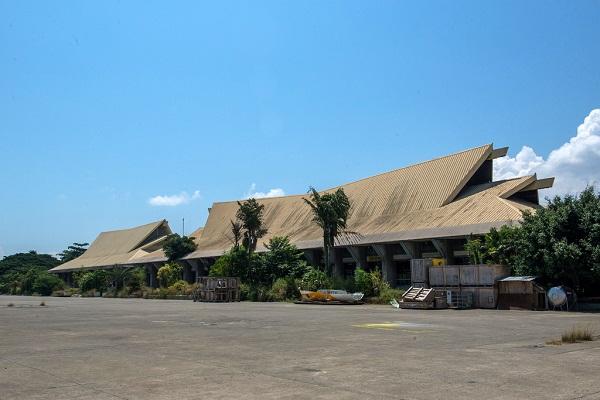 Sân bay Sasa ở thành phố Davao, Philippines.