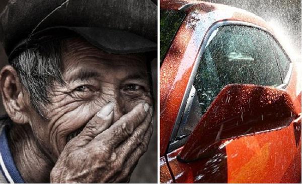 Vết rạch trên xe hơi và câu chuyện ấm tình người. (Ảnh minh họa từ Internet)