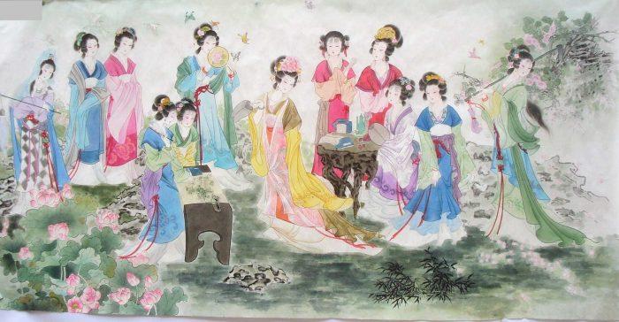 Cuộc đời nữ cao nhân đoán mệnh như Thần (P.4): Nhìn tướng chọn phi tần - H2