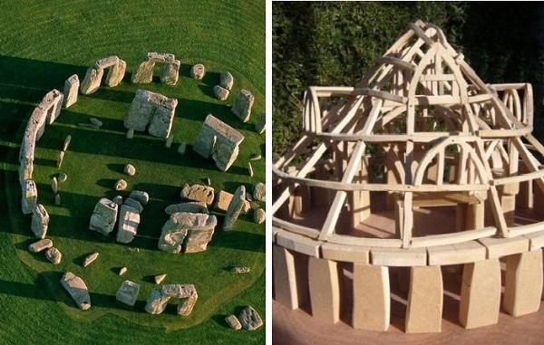 Mô hình ngôi nhà được Sarah Ewbank thiết kế mô phỏng công dụng của bãi đá