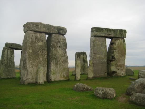 Cấu trúc trilithon, một phần của Stonehenge.